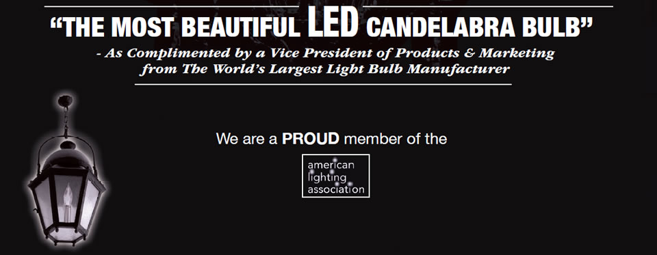 Organo Bulb - The Most Beautiful LED Candelabra Bulb